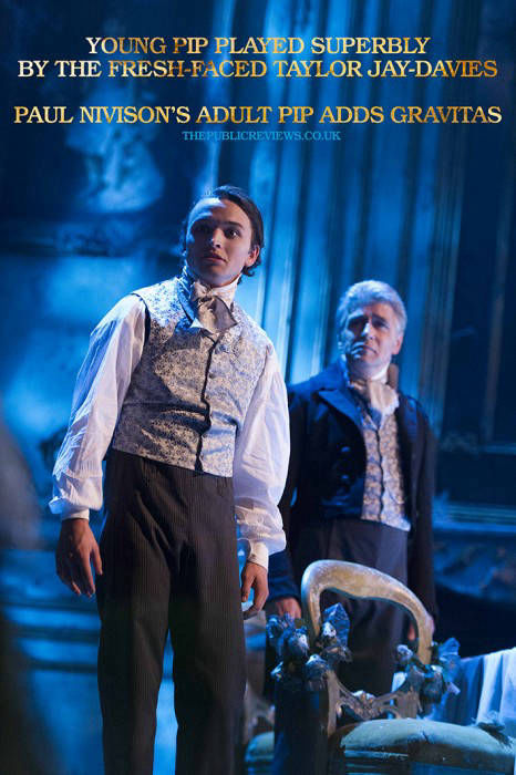 GREAT EXPECTATIONS - Young Pip / Adult Pip - Taylor Jay-Davies /Paul Nivison Marketing - N9 Design