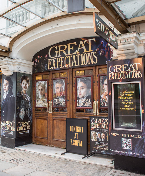Great Expectations Beckman Unicorn Vaudeville Theatre